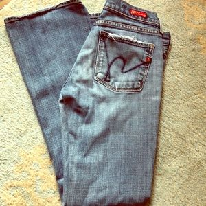 Citizen for Humanity low waist bootcut Kelly #001